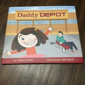 """""""Daddy Depot"""" Hardcover Book by Chana Stiefel"""